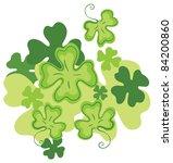 clover design element   Shutterstock .eps vector #84200860