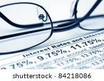 interest rates | Shutterstock . vector #84218086