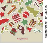 christmas card | Shutterstock .eps vector #84233545