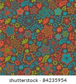 Seamless Texture With Flowers...