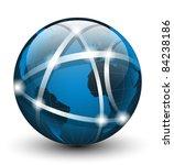 global communication icon.... | Shutterstock .eps vector #84238186