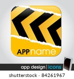 construction theme   blank app...