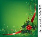 christmas illustration | Shutterstock .eps vector #84263875