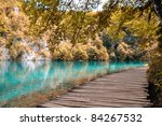Plitvice Lakes National Park In ...