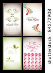 natural name card collection | Shutterstock .eps vector #84272908