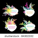 vector background | Shutterstock .eps vector #84302332