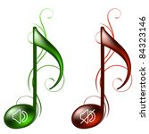 music icons | Shutterstock .eps vector #84323146