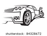 car | Shutterstock .eps vector #84328672