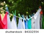 Stock photo laundry 84332554