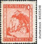 austria   circa 1947  a stamp...   Shutterstock . vector #84335248