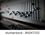 Part Of An Audio Sound Mixer...