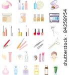 cosmetics | Shutterstock .eps vector #84358954