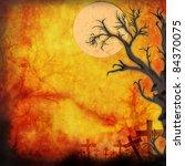 halloween background make for... | Shutterstock . vector #84370075