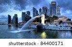 Singapore Dec 29  The Merlion...