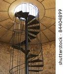 Vertical Spiral Staircase...