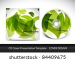 cd cover presentation design...