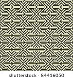 seamless geometric pattern with ... | Shutterstock .eps vector #84416050