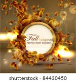 shiny sensual autumn... | Shutterstock .eps vector #84430450