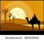 Desert Landscape. Sand Dunes ...
