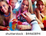 photo of barman hand holding... | Shutterstock . vector #84460894