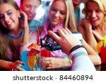 photo of barman hand holding... | Shutterstock . vector #84460894