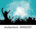 music event background. vector... | Shutterstock .eps vector #84502357