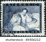 austria   circa 1935  a stamp... | Shutterstock . vector #84506212
