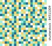pixel pattern with stylish... | Shutterstock .eps vector #84511309