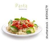Pasta With Tomato Sauce Basil...