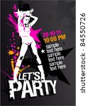 Let S Party Design Template...