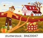 Beautiful Autumn Landscape At...