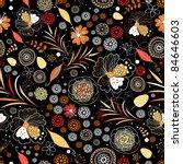 bright autumnal texture | Shutterstock .eps vector #84646603