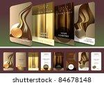 "set of four ""old school""...   Shutterstock .eps vector #84678148"