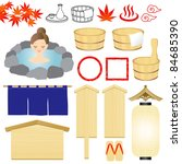 Hot Spring Icons