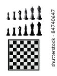 chess | Shutterstock .eps vector #84740647