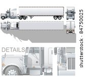 vector hi detailed commercial... | Shutterstock .eps vector #84750025