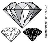 diamond | Shutterstock .eps vector #84776467