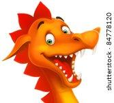 eps cute smiling happy dragon... | Shutterstock .eps vector #84778120