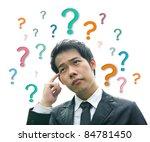 business man concept hand... | Shutterstock . vector #84781450