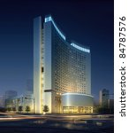 3d business building | Shutterstock . vector #84787576