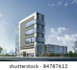 buildings made in 3d   Shutterstock . vector #84787612