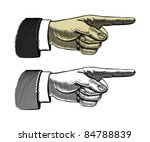 Pointing Finger  Vector...