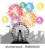 Vector Fireworks And...