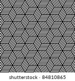 seamless geometric pattern in... | Shutterstock .eps vector #84810865