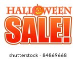 Halloween Pumpkin Sale Sign...