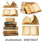 Isolated Books. Collection Of...