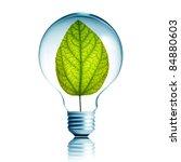 Green Energy Concept  Plant...