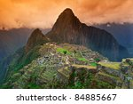 View Of The Lost Incan City Of...