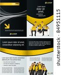 Black And Yellow Template For...
