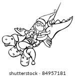 santa     Shutterstock .eps vector #84957181